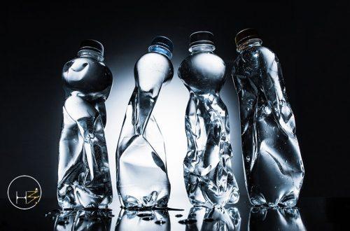 Ciclo di vita di una bottiglia di plastica